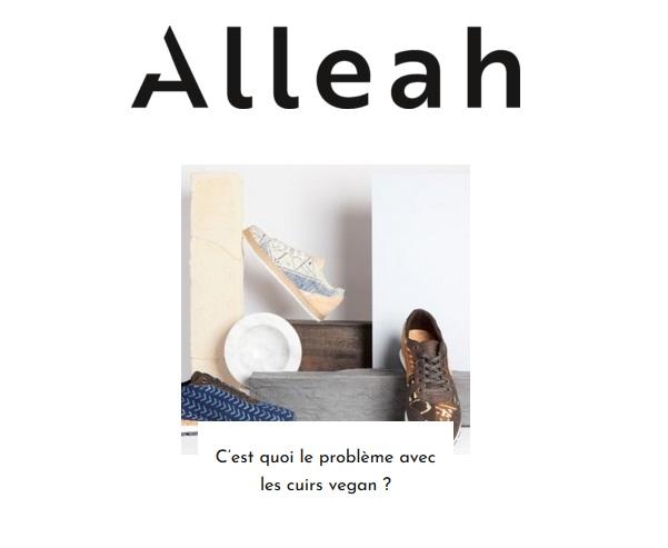 les cuirs dit vegan sont ils éco responsables ?