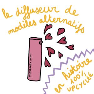 cadeaux écoresponsables et utiles pour la fête des mère badass illustré par Camille Hardouin
