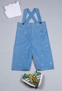 vêtements enfants upcyclés non genré Second Sew
