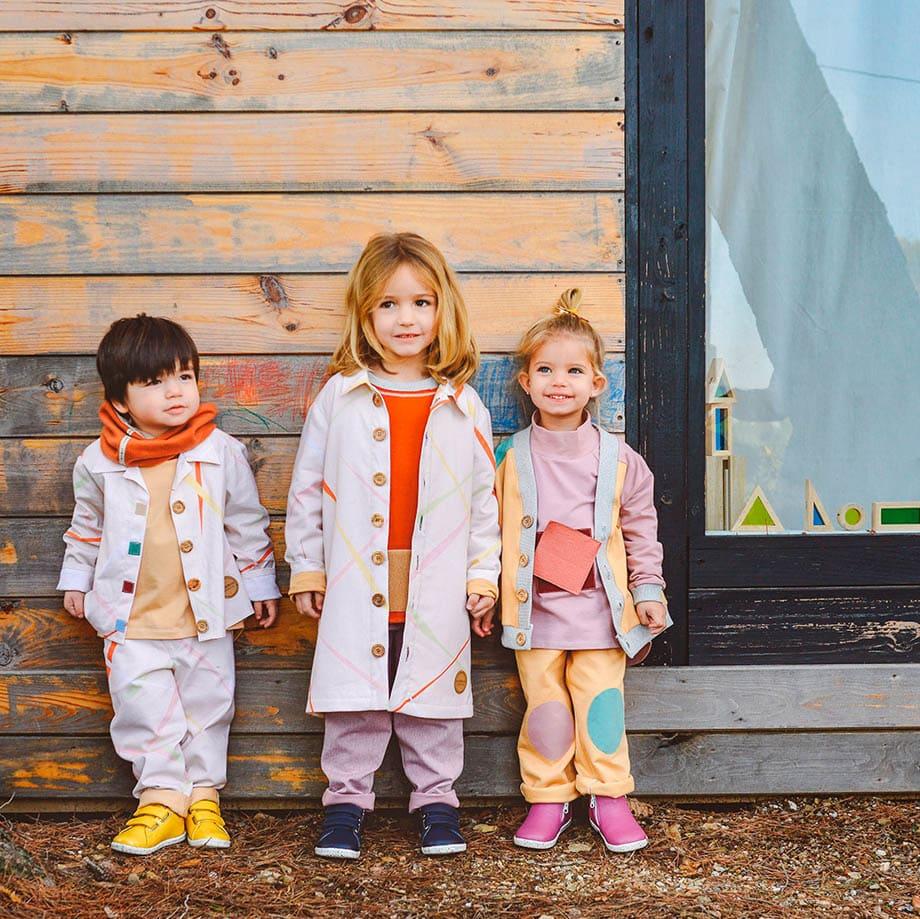 Mimookids, les vêtements enfants mixtes conçus pour favoriser l'autonomie des enfants