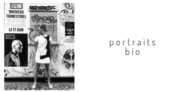 Rédaction de Portraits et de biographies d'acteurs de la mode